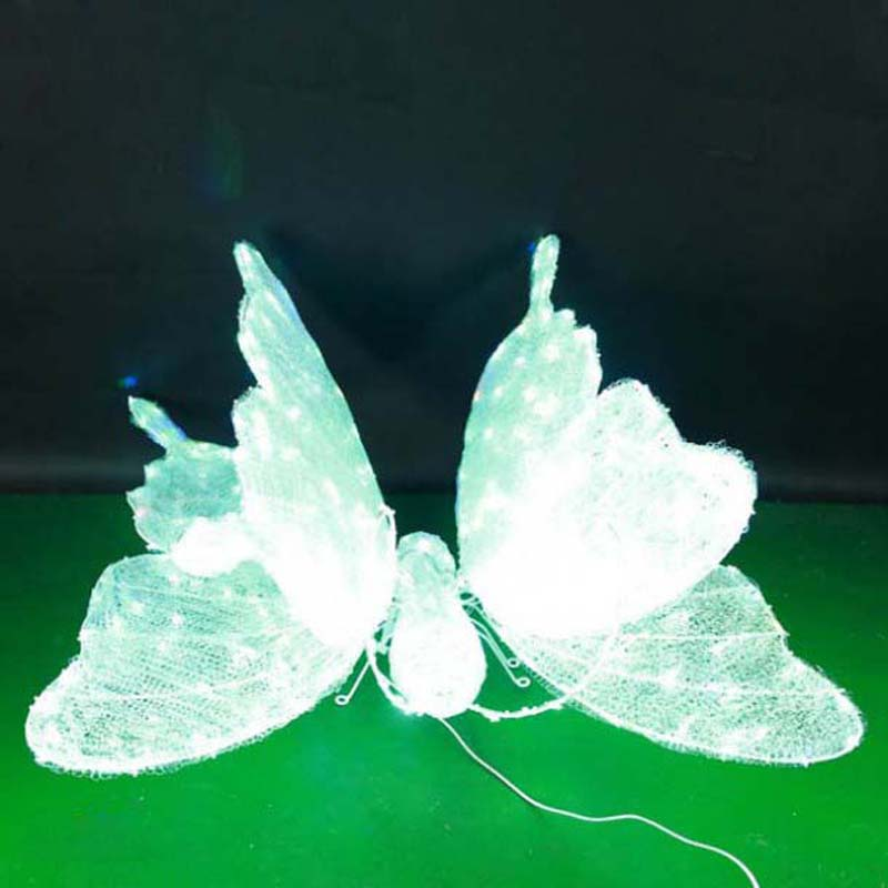 CD-LS122 3D LED osvětlené motýlové modelování světelných dekorací