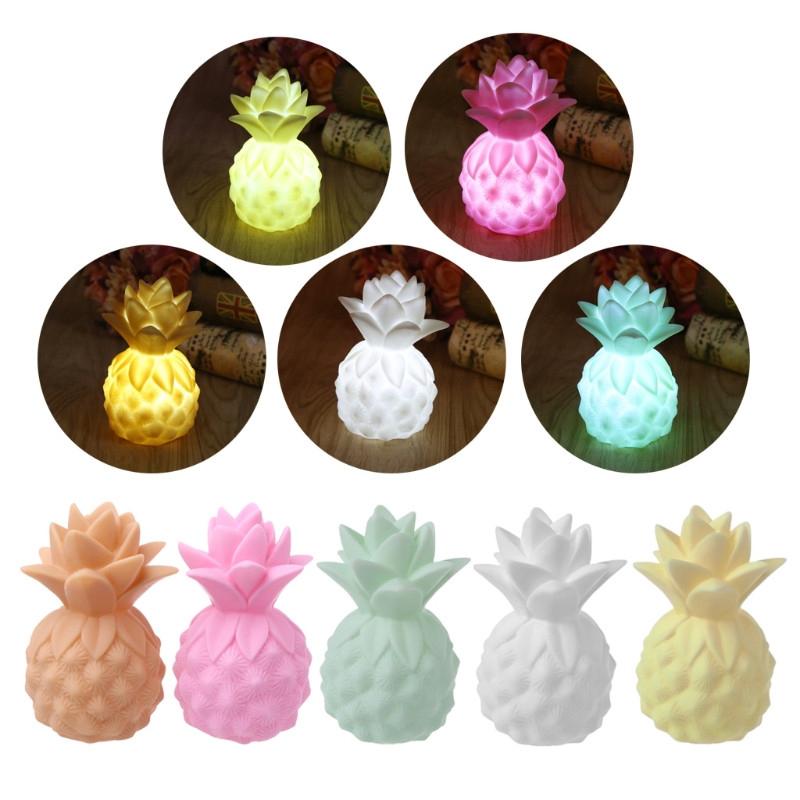 vedl vinyl ananas hru rekvizity led světlo stolní ložnici dekorativní dítě světlomet dětí je osvětlení hračku dar