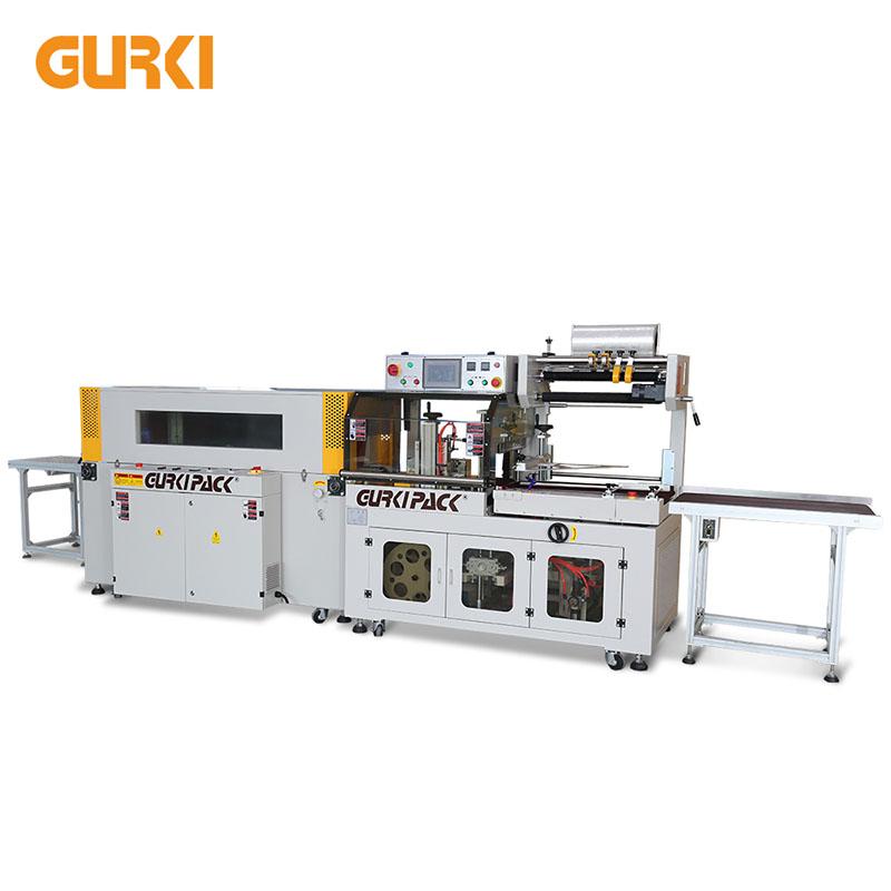Až 40 PCS / min automatický balicí stroj s tepelným smršťováním GPL-5545C + GPS-5030LW