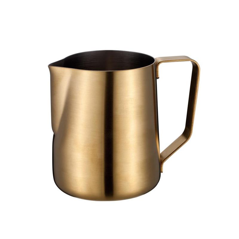 14-kapacitní klasická nerezová džbánová pěna na espresso pro latte art