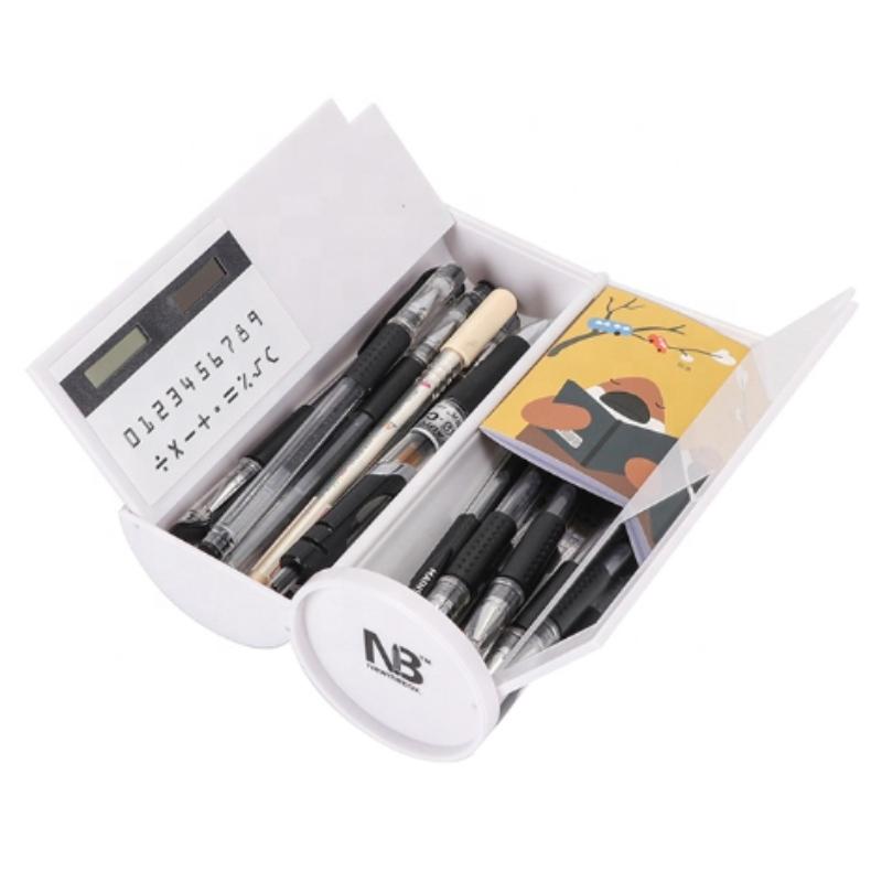 Kancelářské potřeby Multi Color Double Layer Children Pencil Case