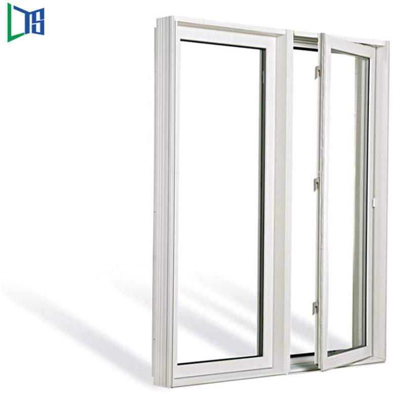Hliníková okna s křídly, křídlová okna s práškovým lakováním, povrchová úprava dvojitým sklem
