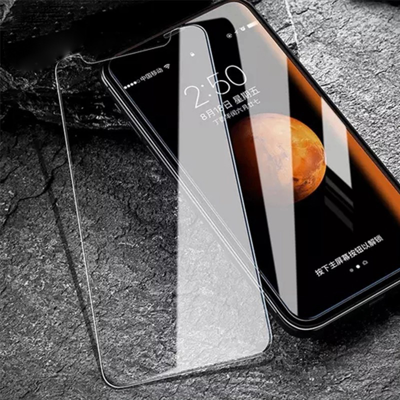 2.5D Transparentní Screen Protector liška iPhone Xs / Xr / Xs Max