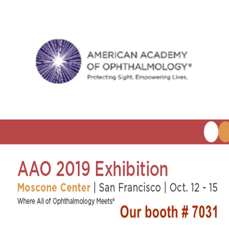 Vítejte na návštěvě nás na výstavě AAO 2019