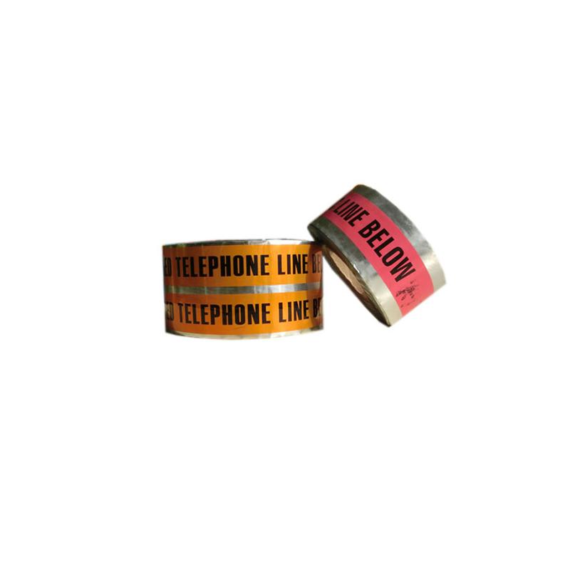 Vysoce kvalitní výrobce za řezané PVC barikády v podzemní detekovatelné kabelové výstražné hliníkové fólii