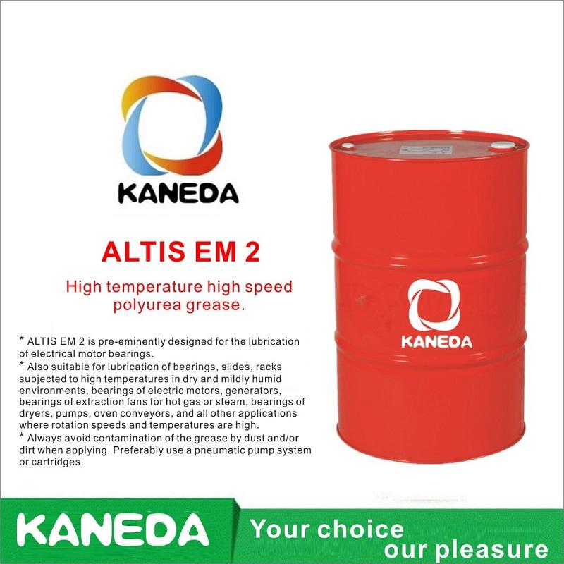 KANEDA ALTIS EM 2 Vysokoteplotní vysokorychlostní polymočovinový tuk.