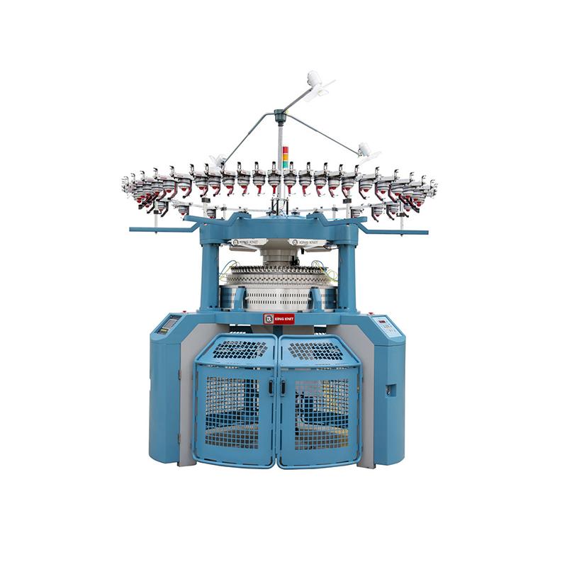 Kruhový pletací stroj