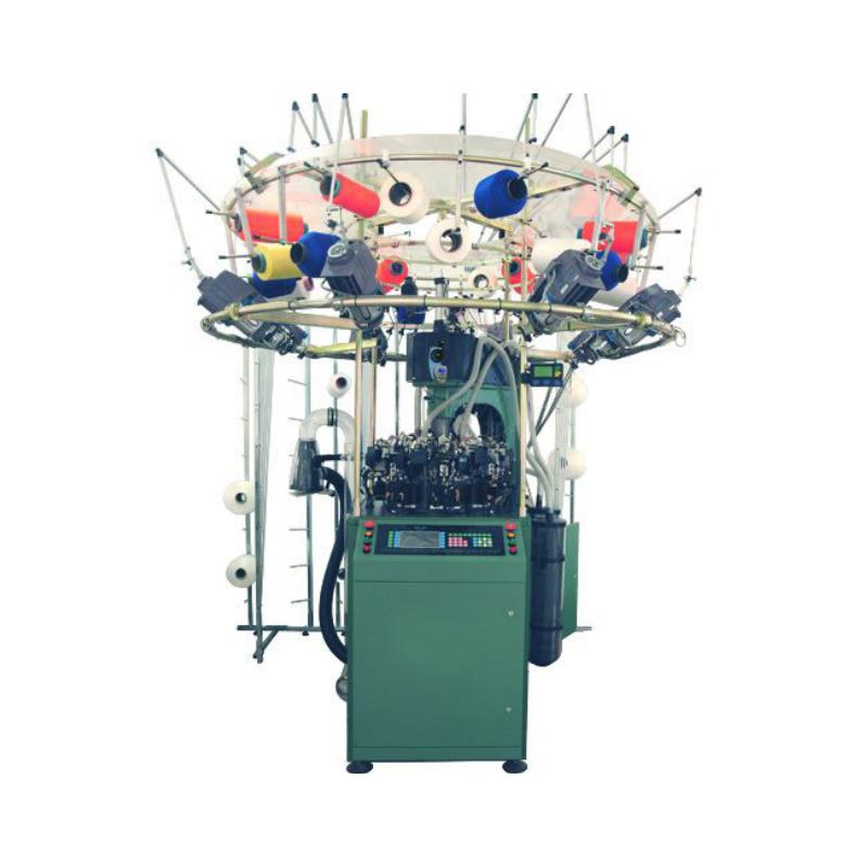 Počítačový pletací stroj na bezešvé prádlo