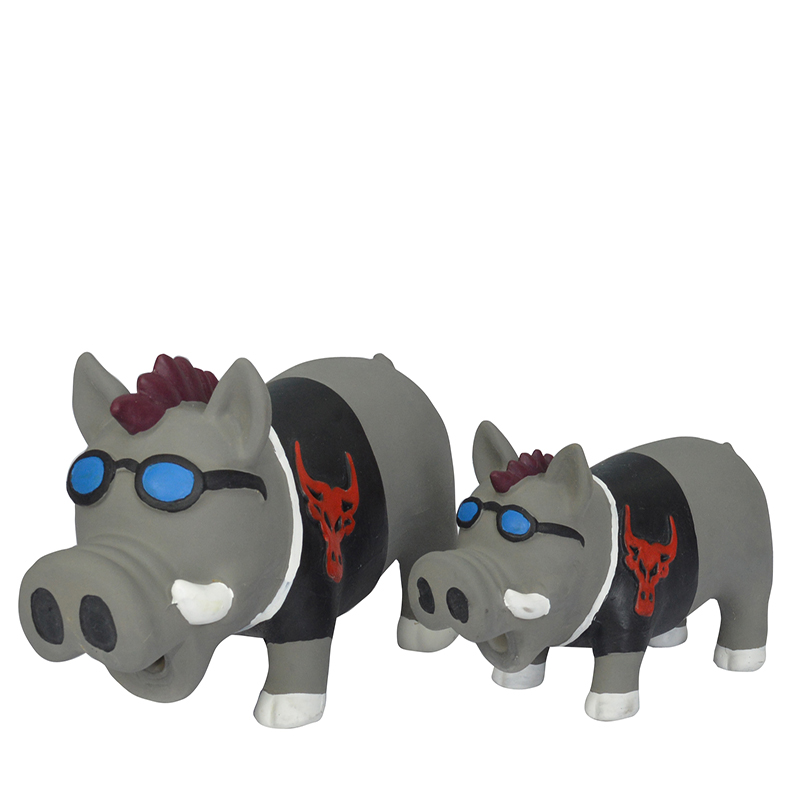 Factory latex squeaky pet toy dog žvýkat hračku
