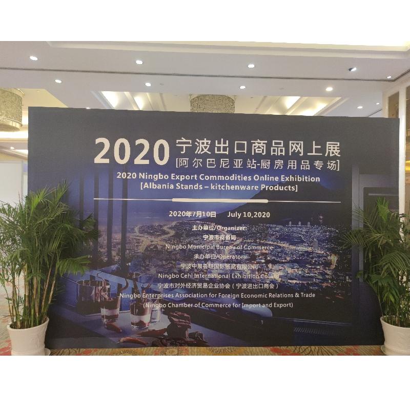 Výstava:2020.07.10 Ningbo on-line výstava