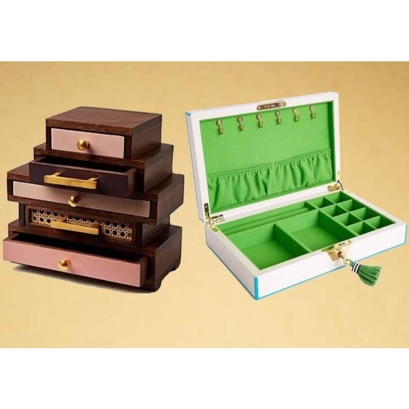Nejlepší organizátoři šperků: krabice, zásuvky a další, aby vaše šperky byly uklizené